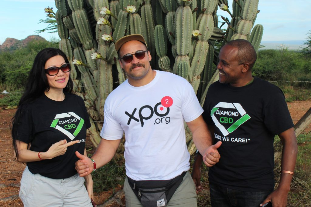 XPO2 and Diamond CBD doing charitable work across Kenya