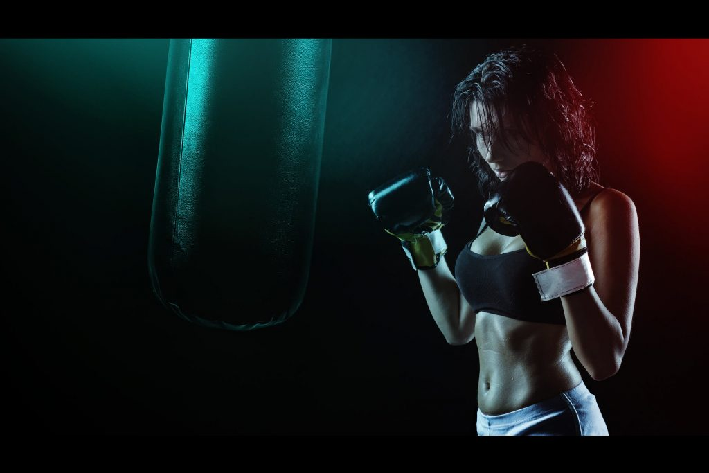 Boxing is a therapy for both men and women.